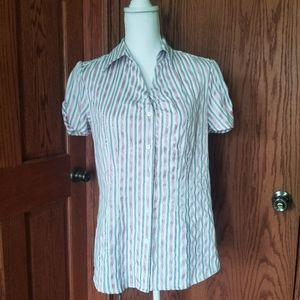 Womens Button-up Blouse